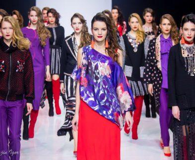 Показ коллекции Ольги Куницыной на Неделе моды в Москве 2017
