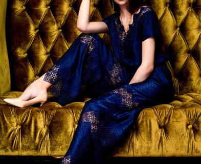 Продолжаем знакомство с коллекцией одежды весна-лето 2018  «Соты»  Модного Дома Ольги Куницыной