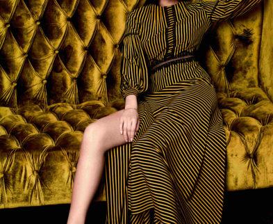 Промо коллекции одежды весна-лето 2018  «Соты»  Модного Дома Ольги Куницыной