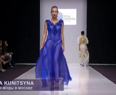 Видео показа коллекции Весна-Лето 2018 «Соты» на Неделе моды в Гостином дворе